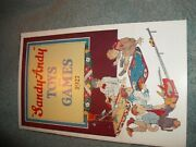 Antique Toy Company Catalog 1927 Sandy Andy Toys And Games