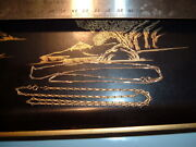2 Two 14k Solid Gold Unique Links 18.5in Necklace 10.3g Chain Necklace Not Scrap