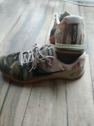 Nike Metcon 4 Olive Canvas Camo Mens Size 10 Ah7453-300 Crossfit Shoes No Box