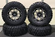Ranger Xp1000 29 Quadking Radial 8 Ply Atv Tire 14 Sti Hd3 M Wheel Kit Pol10k