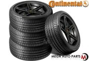 4 Continental Contisportcontact 5p 255/40r20 101y Xl Max Performance Summer Tire