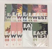 East Of West Comic Issues 1-18 First Prints Incomplete Lot Of 11 Books + Variant