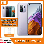 Original 6.81and039and039 Xiaomi Mi 11 Pro 5g Phone 256gb Snapdragon 888 67w Fast Charging