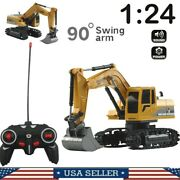 Remote Control Excavator Rc Construction Tractor Vehicle Digger Rc Car Toy Usa