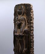 Ancient Egyptian Antiques Statue Goddess Isis Egypt Carved Stone Bc