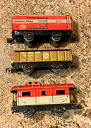 Marx Allstate Sears And Roebuck 9620 Electric Train Tin Toy Set, Early 1960s