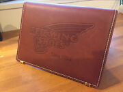 Red Wing Shoes Official Leather Plate Sign Board Not For Sale Promotion Only