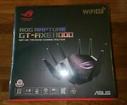 Asus Rog Rapture Wifi 6e Gaming Router Gt-axe11000 -tri-band 10 Gigabitandnbspnew