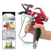 Airless Spray Gun Rx-pro Red Series 0538020 W/ 517 Tip And Guard For Titan 538020
