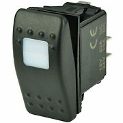 Bep Dpst Contura Switch - 1-amber Led - Off/on