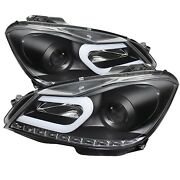 Drl Projector Headlights For 2012-2013 Mercedes-benz C63 Amg Spyder Auto 5074249