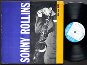 Sonny Rollins Volume 1 Lp Blue Note 1542 Us 1958 Ear Mono 47 W.63rd Donald Byrd
