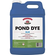 2.5 Gal. Pond Dye Blue Colorant Outdoor Water Lake Blue Hue Concentrated Tints