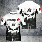 Case Ih T-shirt Skull So Cool Tractors-top Gift For Menand039s All Size S-5xl