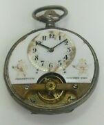 Spiral Breguet Silver Pocket Watch With 8 Day's Movement Won In Milan 1906