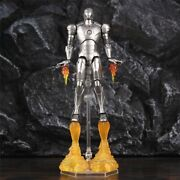 Classic Iron Man Mark Ii 6 Action Figure With Repulsors Fire Effect Pvc Model