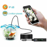 8 Led 1200p Wifi Endoscope Inspection Camera Ip68 For Phone Ios Android With Led