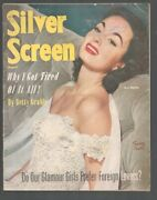Silver Screen 8/1952-ann Blythe Cover-betty Grable-red Skelton-jerry Lewis-vg-