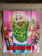 2012 Garbage Pail Kids Bns 1 Facial Harry Poster Brand New Series Gpk