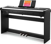 Donner Dep-20 Beginner Digital Piano 88 Key Full Size Weighted Keyboard Piano