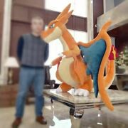 59'' Anime Giant Charizard Plush Doll Cover Pillow Case Cosplay Toy Xams Gift