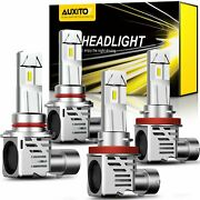 Auxito 9005+h11 Led Headlight Bulbs High+low Beam Replacement Kit 120w 20000lm