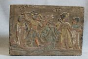 Rare Egyptian Antiques Egypt Gods Wall Stela Relief Pharaonic Carved Stone Bc