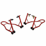 New Motorcycle Bike Stand Front And Rear Wheel Stand Swingarm Lift Auto Bike Shop