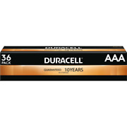 36 Count Duracell Aaa Alkaline Batteries March 2030 22.97 Free Shipping