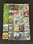 Huge Lot Of 25 Xbox 360 Games Call Of Duty Gta Wwe Ufc 2k And Many More