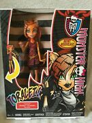 Rare Variant Monster High Toralei Ghouls Alive Walmart Doll Rare Mib 2013
