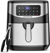 7.4 Quart Air Fryer Acezoe 9 Presets Electric Air Fryers Oven With Preheat 23