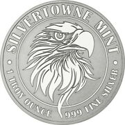 Silvertowne 1 Ounce Silver Might Eagle Round In Capsule
