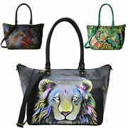 Anna By Anuschka Leather Womenand039s Tote Bag Large Handbag