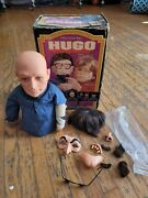 1975 Vintage Hugo Man Of A Thousand Faces Puppet Alan Ornsby Kenner With Box