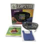 Leap Frog - Leapster - Multimedia Learning System And Learning With Leap Game