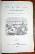 1856 Syria And Syrians Turkey In The Dependencies Wortabet 2 Vols 1st Edition Rare