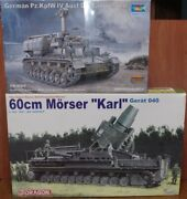 1/35 Carl Self-propelled Mortar Artillery Panzer Modified Shell Feed Vehicle
