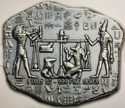 One Ounce Hand Poured Anubis Antique Relic Cleopatra Tut Pyramid Buy Yours Today