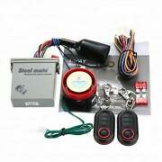 Motor Bike Alarm System Anti-theft Security Remote Motorcycle Scooter Control 12