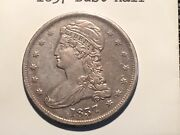 1837 Bust Half Looks Xf But Small Scratch And Maybe Light Cleaning Priced Cheap