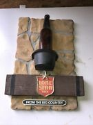 Lone Star Beer From The Big Country Sign San Antonio Texas Longneck Bottle
