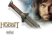Officially Licenced Lotr Lord Of The Rings Hobbit Uc2952 Sword Of Kili The Dwarf