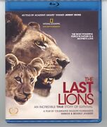 The Last Lions Blu-ray Disc 2012 Oop Like New