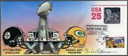 Peterman Hand Painted Steelers Vs Packers Super Bowl Xlv Hologram Sc.u618 F.d