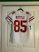 Authentic George Kittle Nike Elite 49ers Jersey Mens Size 40