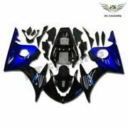 Ms Injection Mold Fairing Fit For Yamaha Yzf 03-05 R6and06-09 R6s Blue Black C044