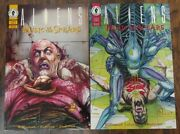 👽 Aliens Music Of The Spears 2 And 4 👽dark Horse Comics 1994 Vintage