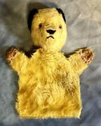 Vintage 1950's Hand Puppet Show Teddy Bear Chad Valley Vintage Antique F/s