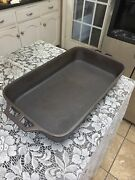 Lodge Cast Iron Fish Pan 22andrdquo By 11 1/2andrdquo By 3andrdquo